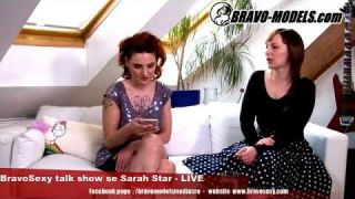 BravoSexy talk show 09/2018 se Sarah Star - guest ANNA - Zakladatelka platformy Other Dress