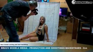 Bravo Models Media - Prague - photo shoots backstages - erotic model DESTINY - 03