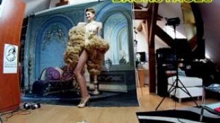 Backstages - TFP ART 2019 - Fantasy theme - Yassminde de Mortifere 03 - Burlesque dancer